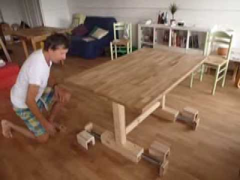 Table transformable haute et basse youtube - Table basse transformable en table haute ikea ...