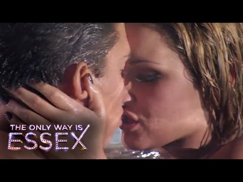 The Only Way Is Essex: Joey Essex and Sam Faiers snog in the pool