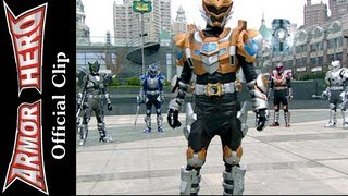 Armor Heroes Fights with Monsters - Official English Clip  [HD 公式] - 65