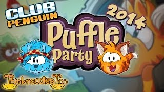 Club Penguin: Puffle Party 2014 Walkthrough