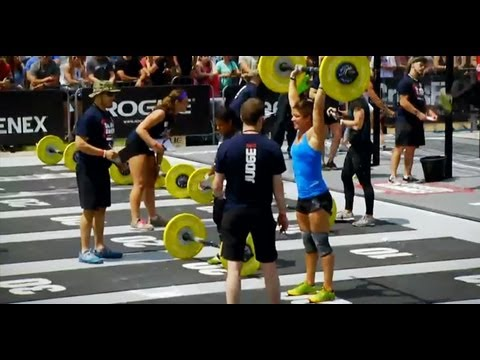 CrossFit - North East Regional Live Footage: Women's Event 6