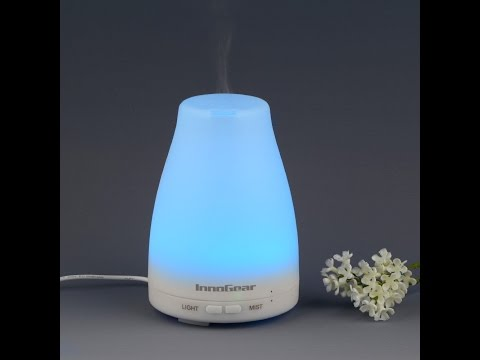 InnoGear® 100ml Aromatherapy Essential Oil Diffuser  - REVIEW