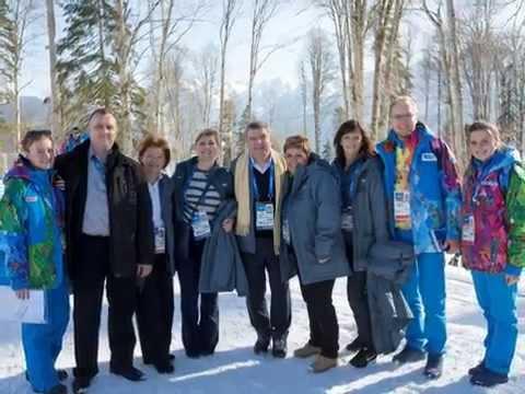 Олимпийские Игры Сочи 2014 глазами волонтера-ассистента Президента МОК Томаса Баха