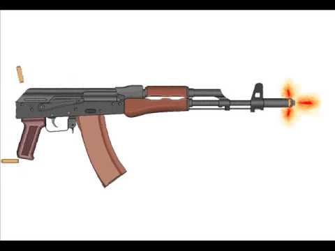 how to draw a ak 47