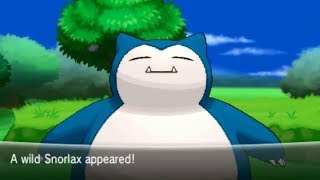 Pokemon X And Y Part 15 Catching Snorlax