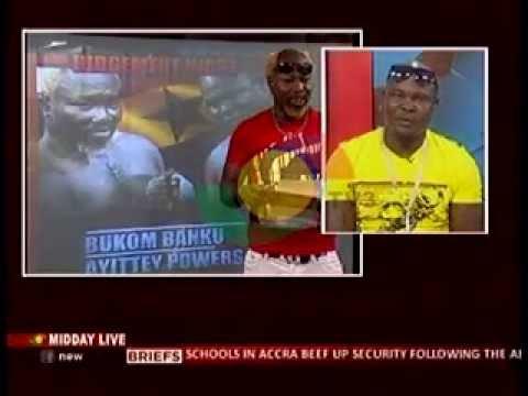 Midday Live - Bukom Banku,Ayittey Powers and Irene Logan read the news - 26/5/2014