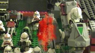 Lego Clone Wars The 501st Legion III Revenge (filmed In