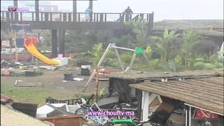 الحصاد اليومي :مدن ساحلية تعيش على إيقاع أمواج المد البحري العالية التي خلفت خسائر مادية        حصاد اليوم