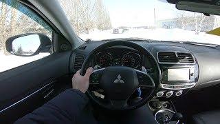 2014 Mitsubishi ASX 1.8 (140) POV Test Drive. MegaRetr