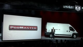 Watch New 2014 Ram ProMaster Full-size Van Debut At The