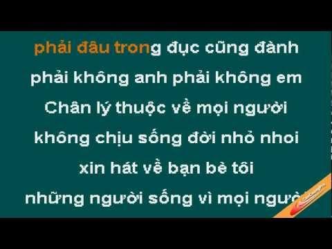 Mot Doi Nguoi Mot Rung Cay Karaoke - Nghi Van - CaoCuongPro