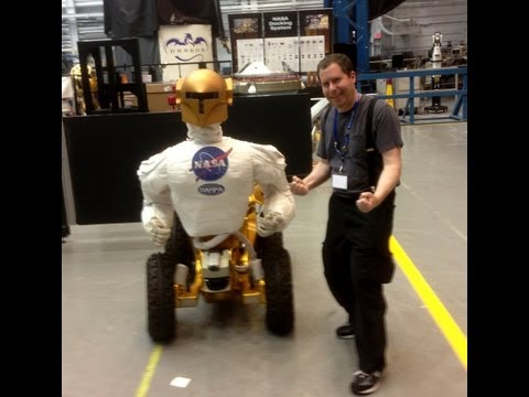 Robonaut: Our cutting edge Robot for the space station!