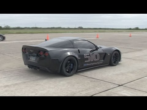 205mph Corvette - The Texas Mile - 510 Race Engineering Z06