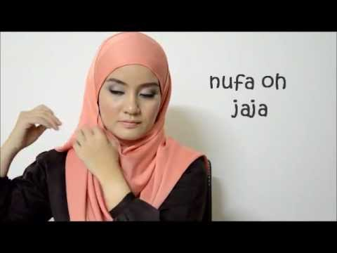 How to wear HIJAB 2 - easy and simple- NOJ style