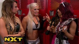 Sasha Banks challenges Emma & Dana Brooke ; WWE