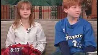 Emma Watson And Rupert Grint Interview