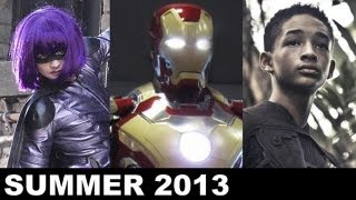 Summer Movies 2013 Iron Man 3, Kick Ass 2, The Wolverine