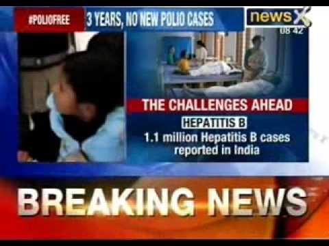 2 drops to freedom: India polio free from today - NewsX