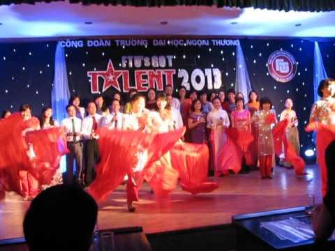 Rạng rỡ Việt Nam  Khoa Quản trị kinh doanh  FTU's got Talent 2013