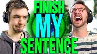 FINISH MY SENTENCE | Jacksepticeye
