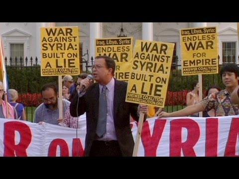 """US out of the Middle East"": anti-war protests gain momentum"
