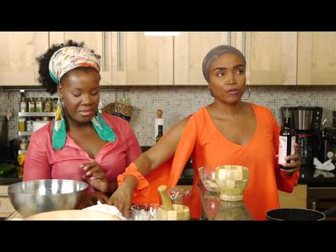 Dishing It Cooking Show with Guest Emeline Michel - HOW TO MAKE HAITIAN FOOD MAYI MOULIN AK ARANSO