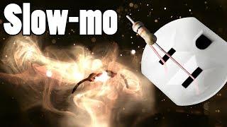 Exploding Resistors and Capacitors (slow-mo)