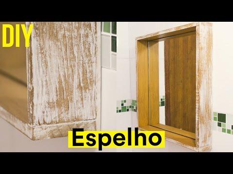 MULTIFIX FIXA ESPELHO - DIY: Espelho com pátina