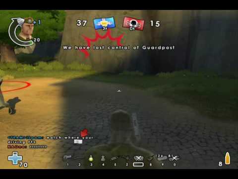 Battlefield Heroes Skeet Shooting on VIctory Village