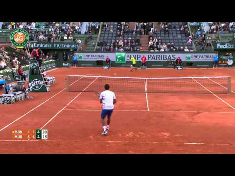 Roland Garros 2014 Wednesday Highlights Murray Monfils