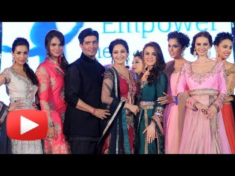 Madhuri Dixit, Preity Zinta, Lara Dutta, Malaika Arora Khan, Isha Koppikar On The Ramp Together