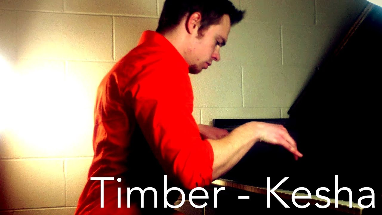 u0026quot;Timberu0026quot; - Kesha - Piano Cover! - YouTube