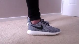 Nike Roshe Run Unboxing And On Feet View.