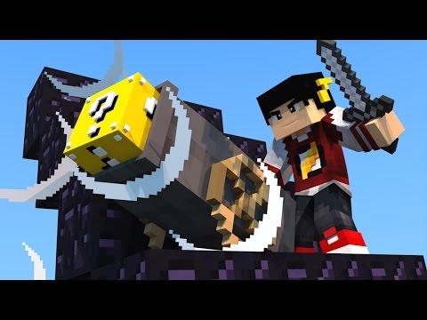Minecraft: ESCADONA - ATIRANDO BLOCOS ‹ AM3NIC ›