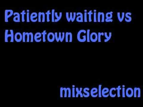 50 Cent Patiently Waiting Ft. Eminem Vs. Adele Hometown Glory (High Contrast Mix) Mash Up