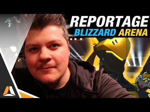 À la découverte de la Blizzard Arena ! (Overwatch League)