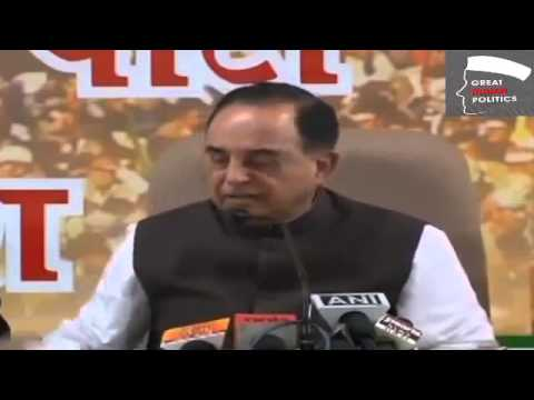 Dr Subramanian Swamy reveals Tarun Tejpal's connection with Congress