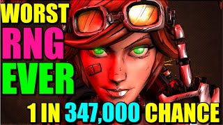 Borderlands 2: Literally The Worst RNG Ever, 1 In 347,000