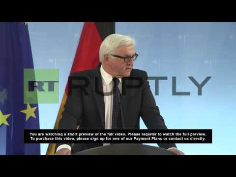 Germany: German role in Ukraine will be 'responsible' - Steinmeier