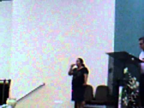Isabel  canta Revelação do amor  Voz da verdade na Igreja O Brasil para Cristo Pr Moisés Cortez