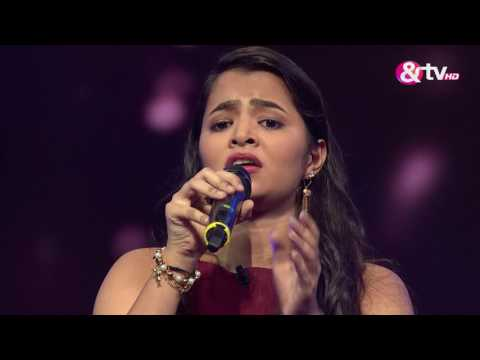 Molyshree Garg - Performance - Knock Out Round Episode 16 - January 29, 2017 - The Voice India Season2