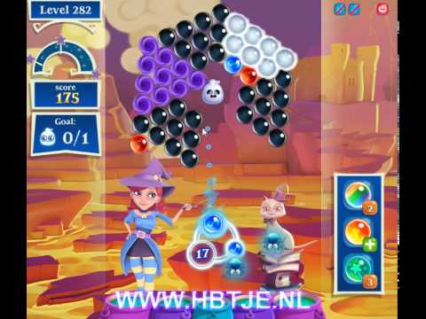 Bubble Witch Saga 2 level 282