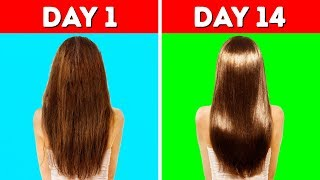 22 HACKS YOU NEED TO KNOW TO MAKE YOUR HAIR LONG AND HEALTHY