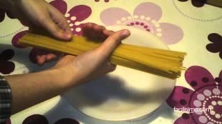 Como calcular la cantidad de espaguettis