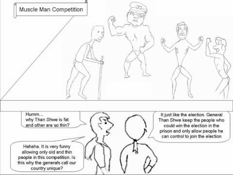 Muscle Men Competition