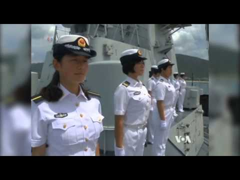 China Joins Naval Exercise as Regional Tensions Rise
