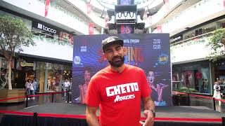 Video invitation of Samson Arakelyan to CABA Quest 2018