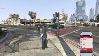 Grand Theft Auto 5: How To Change Your Phone Background