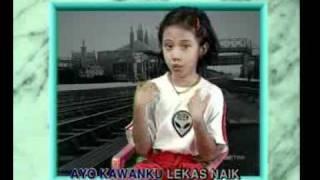 Naik Kereta Api Lagu Anak-Anak Indonesia.flv