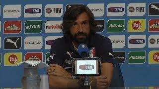 """Pirlo: """"L'Italia può vincere il Mondiale"""" - Mondiali 2014"""
